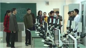 院校领导带队巡查新学期开学教学工作